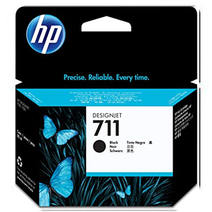 HP INK CARTRIDGE 711 80-ML CZ133A FOR T520 PLOTTER BLACK