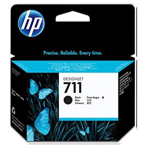 HP INK CARTRIDGE 711 80-ML CZ133A FOR T520 PLOTTER BLACK