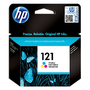 HP INK BLACK 121 Original CC640HE