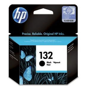 HP 132 Black Original Ink Cartridge