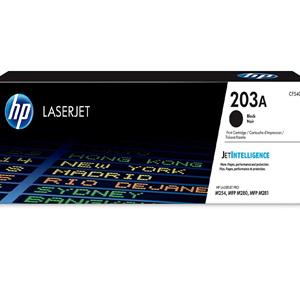 HP 203A Black Original LaserJet Toner Cartridge (CF540A)