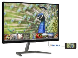 Philips 27 Inch Full HD Monitor with Ultra Wide-Color 276E7QDSB