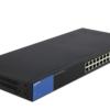 Linksys Business LGS326P 24-Port Gigabit PoE+ (192W) Smart Managed Switch + 2x Gigabit SFP/RJ45 Combo Ports