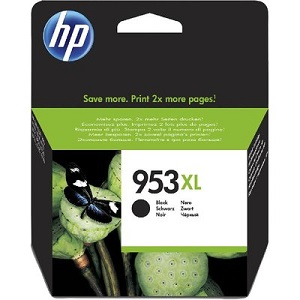 HP 953XL High Yield Black Original Ink Cartridge L0S70AE