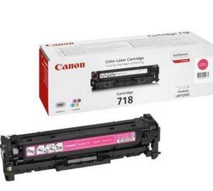Canon 718 Magenta Original Laser Toner Cartridge