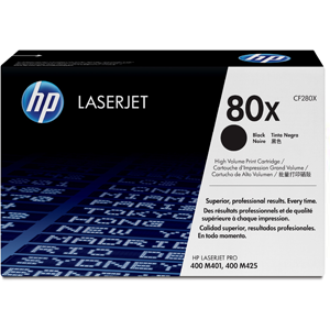 HP CF280XC High Yield BLACK Contract Original Toner LJ M401/M425MFP CF280XC
