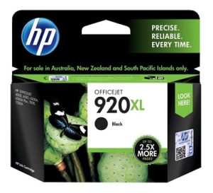 HP 920XL High Yield Black Original Ink Cartridge CD975AN