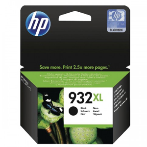 HP 932xl High Yield Black Original Ink Cartridge for OfficeJet 6100, 7110, 7510, 7512, 7600 SKU# CN053AE
