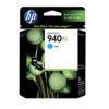 HP 940XL High Yield Cyan Original Ink C4907AN