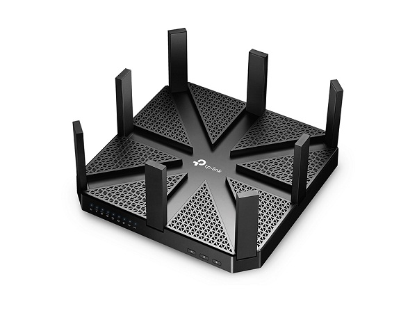 TP-Link AC5400 Tri-Band MU-MIMO Gigabit Router- Archer C5400, Black