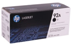 HP 92A Black Original LaserJet Toner Cartridge C4092A