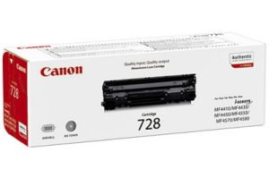 Canon 728 Black Original Laser Toner Cartridge