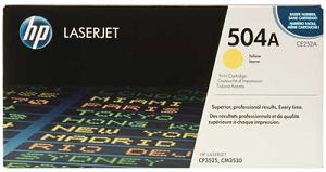 HP 504A Yellow Original LaserJet Toner Cartridge CE252A