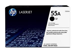 HP 55A Black Original LaserJet Toner Cartridge CE255A