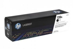 HP 128A Black Original LaserJet Toner Cartridge CE320A