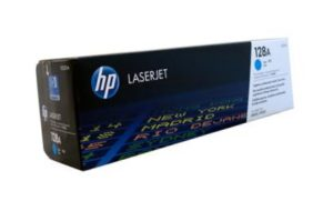 HP 128A Cyan Original LaserJet Toner Cartridge CE321A