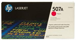 HP 507A Magenta Original LaserJet Toner Cartridge CE403A