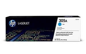 HP 305A Cyan Original LaserJet Toner Cartridge CE411A