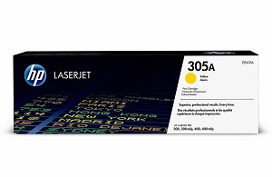 HP 305A Yellow Original LaserJet Toner Cartridge CE412A