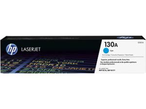 HP 130A Cyan Original LaserJet Toner Cartridge CF351A