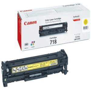 Canon 718 Yellow Original Laser Toner Cartridge
