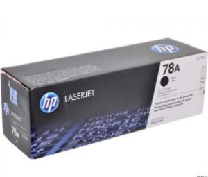 HP 78A Black Original LaserJet Toner Cartridge CE278A