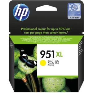 HP 951XL High Yield Yellow Original Ink Cartridge CN048AN