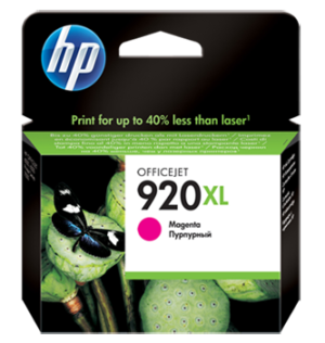 HP 920XL High Yield Magenta Original Ink Cartridge CD973AN