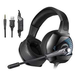 ONIKUMA K6 Gaming Headset Stereo Headphones With Mic LED Light For Xbox One Computer PC PS4 Game