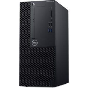 DELL OptiPlex 3070-Mini Tower Intel Core i5-9500 Processor (9M Cache, up to 4.4 GHz)–Ram 2666MHz DDR4 4GB – HDD 1TB - 8x DVD RW-DOS