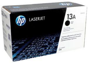 HP 13A Black Original LaserJet Toner Cartridge Q2613A