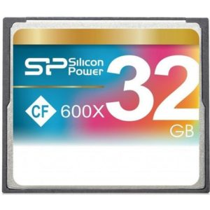 Silicon Power Compact Flash 32GB 600x SP032GBCFC600V10