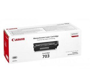 Canon 703 Black Original Laser Toner Cartridge