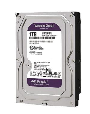 WD 1TB Surveillance Hard Disk Drive Purpel 5400 RPM SATA 6 GB/S 64MB WD10PURZ