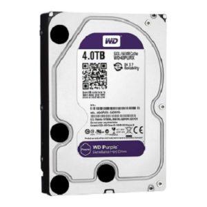 WD 4TB Surveillance Hard Disk Drive Purpel 5400 RPM SATA 6 GB/S 64MB WD40PURX