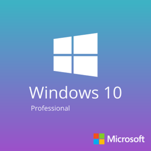 Microsoft Windows 10 Professional 64 Bit OEM Arabic