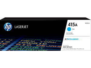 HP 415A Cyan Original LaserJet Toner Cartridge W2031A