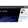 HP 17A Black Original LaserJet Toner Cartridge CF217A