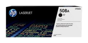 HP 508A Black Original LaserJet Toner Cartridge CF360A