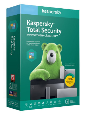 Kaspersky Total Security 2020 1Year