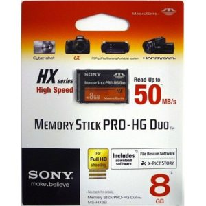 Sony MSHX8B 8GB Memory Stick PRO-HG Duo