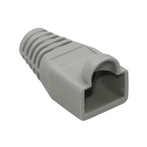 NetBox RJ45 Strain Relief Boot 100pcs - Gray