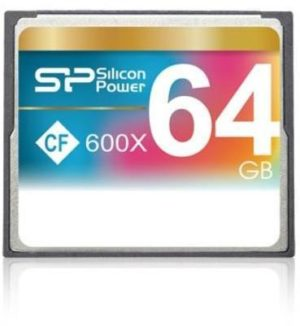 Silicon Power Compact Flash 64GB 600x SP064GBCFC600V10