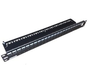 3M Volition Series Cat6 24 Port RJ45 Keystone Patch Panel